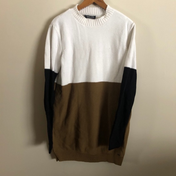 Volcom | Colorblock Tunic Sweater